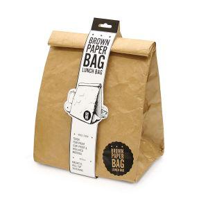 Luckies Brown Paper Bag Lunch Bag Brown