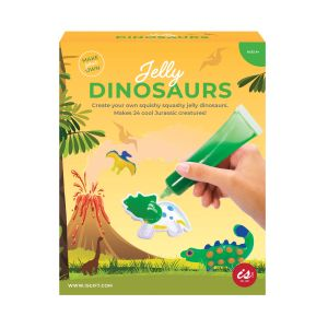 Is Gift Make Your Own Jelly Dinosaurs Multi-Coloured 26x19x5.5cm