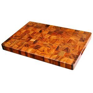 Davis & Waddell Acacia Wood End Grain Cutting Board Natural 50x35x4cm
