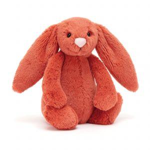 Jellycat Bashful Cinnamon Bunny Small Orange 18x9x10cm