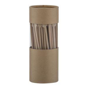 Davis & Waddell Bamboo Skewers Set/140 Natural 25x1x0.5cm