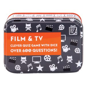 Apples to Pears Gifts for Grown Ups - Film & TV Quiz Game in a Tin  Multicoloured