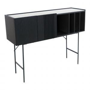Amalfi Zenith Console Black 115x35x89cm