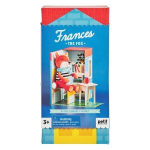 Petit Collage Frances the Fox Playset Multicoloured