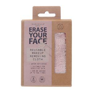 Erase Your Face Reusable Makeup Removing Cloth  Pink