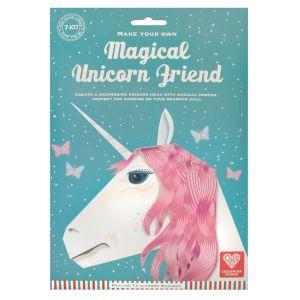 Clockwork Soldier Magical Unicorn Friend White 34.5x24.5x0.5cm