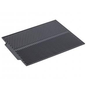 Davis & Waddell Silicone Draining Mat 42.5x33.5x0.5cm Grey