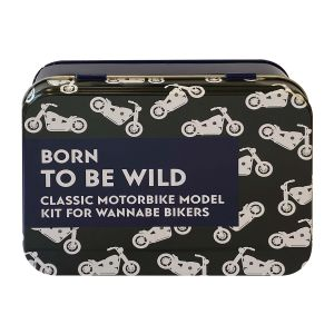 Apples to Pears Born To Be Wild in a Tin Multi-Coloured 14.5x10.5x5.6cm