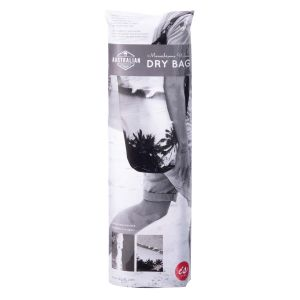 The Australian Collection Dry Bag 10Ltr - Monochrome Waves  Monochrome Ocean Prints