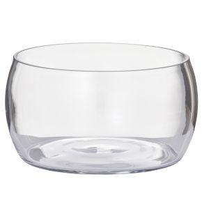 Rogue Scarlett Bowl Clear 22x22x11cm