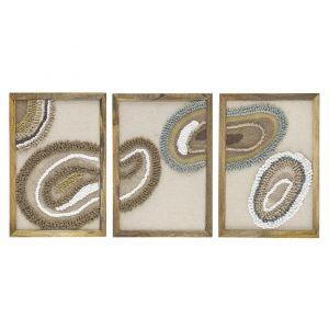 Sirocco Woven Wall Art Set/3 NCWAAM08
