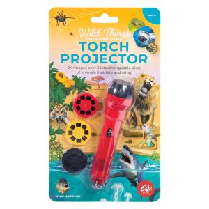 Is Gift Torch Projector - Wild Things That Bite And Sting Red 12.5x3x3cm