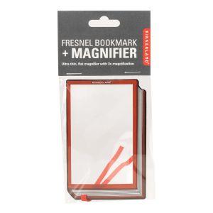 Kikkerland Fresnel Bookmark + Magnifier White