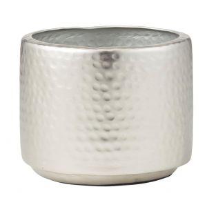 Rogue Tanya Pot Silver 17x17x14cm