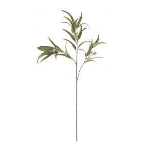 Rogue Flowering Eucalyptus Spray White 40x18x90cm