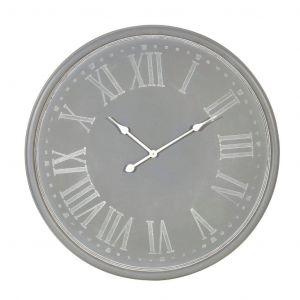 Amalfi Lillian Wall Clock Grey 80x80cm