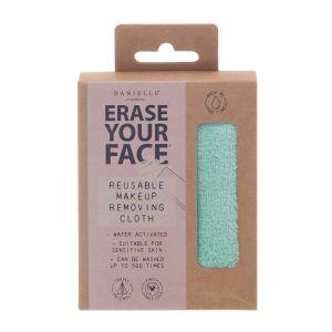 Erase Your Face Reusable Makeup Removing Cloth  Green
