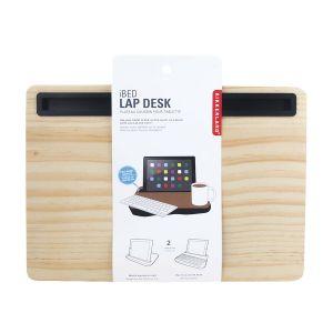 Kikkerland iBed Lap Desk Wood Natural