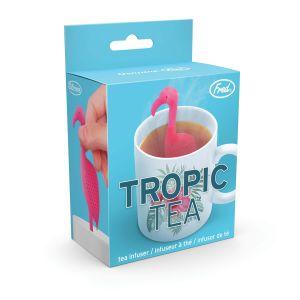 Fred Tropic Tea - Flamingo Infuser Multi-Coloured 4x7.2x5.4cm