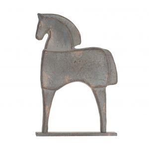 Amalfi Wilby Sculpture Mottled Grey 25x5x38.5cm