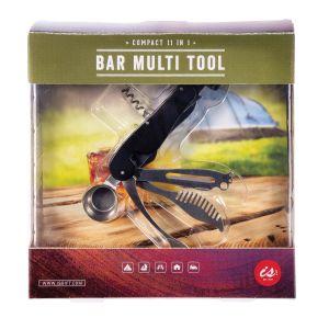 Is Gift 11 in 1 Bar Multi Tool Black 13x2.5x3cm