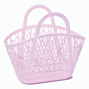 Sun Jellies Betty Basket Lilac 45x40x25cm