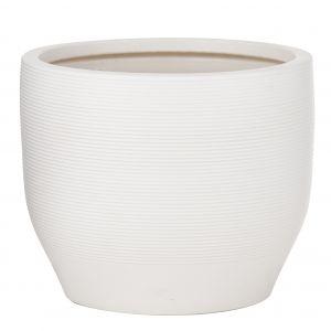 Rogue Meilani Pot White 28x28x23cm