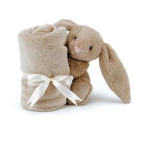 Jellycat Bashful Beige Bunny Soother Brown 34x34x15cm