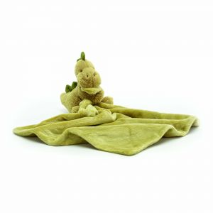 Jellycat Bashful Dino Soother Green 13x13x34cm