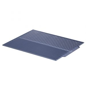 Grand Designs Kitchen  Drain Away - Silicone Draining Mat Blue 42x33cm