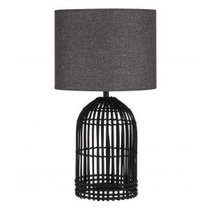 Amalfi McCrae Table Lamp Black/Grey 34x34x62cm