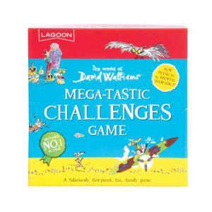 Lagoon David Walliams - Mega-Tastic Challenges Game Blue 17x17x3.5cm