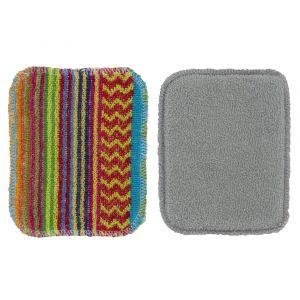Scrubby+ Scrubby & Sponge 2pc Set Asst Designs