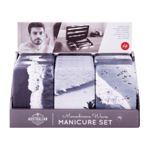 IS GIFT The Australian Collection Manicure Set - Waves assorted Ocean Prints