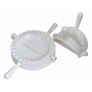 Davis & Waddell Dumpling Maker Set 2pce White Small 21x12.2x2.8cm/Large 23.8x15.2x3.4cm