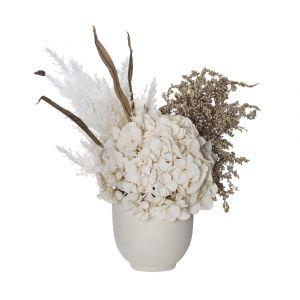 Rogue Hydrangea Seeding Mix-Orson Pot Brown/Cream 40x33x45cm
