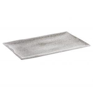 Davis & Waddell Atacama Rectangular Platter White Speckle 40x25x2cm