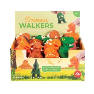 IS GIFT Dinosaur Walkers  assorted bown, orange & green. 4 asst styles.