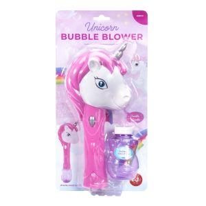 Is Gift Unicorn Fantasy Bubble Blower White 20x12x8cm