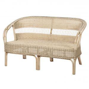 Amalfi Bahamas 2 Seater Chair Natural 144x70x86cm