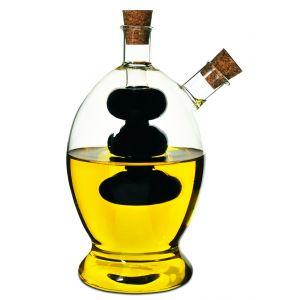 Davis & Waddell Grape Oil & Vinegar Bottle Clear/Natural 8.5x8.5x15cm