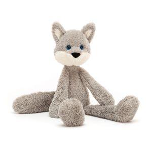 Jellycat Wyatt Wolf  Grey