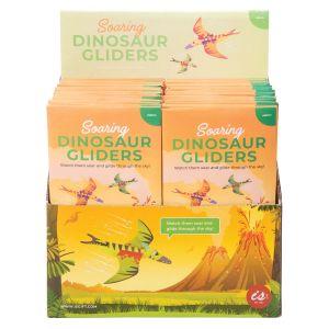 Is Gift Soaring Dinosaur Gliders (2Asst/48Disp) Assorted 19.5x10.5x0.5cm