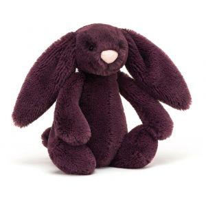 Jellycat Bashful Plum Bunny Small  Purple