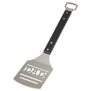 Davis & Waddell Dad BBQ Turner with Bottle Opener Stainless Steel/Black 39.5x10x3cm