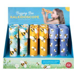 Is Gift Kaleidoscopes - Buzzing Bees (3Asst/18Disp) Assorted 4.5x19x4.5cm