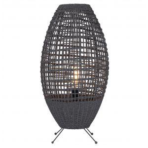 Amalfi Concord Table Lamp Grey 36x36x70cm