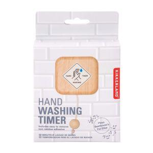 Kikkerland 40 Second Hand Washing Timer White