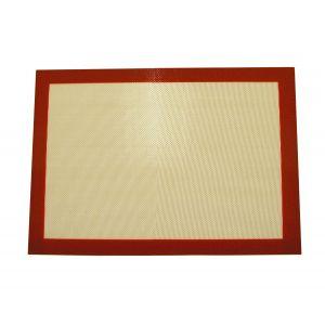 NoStik Reusable Non-Stick Silicone Pastry Mat Brown 40x30x0.2cm
