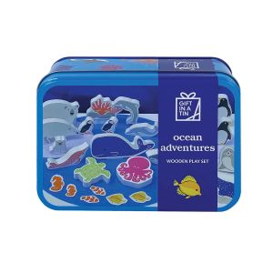 Apples to Pears Ocean Adventures in a Tin  Multicoloured